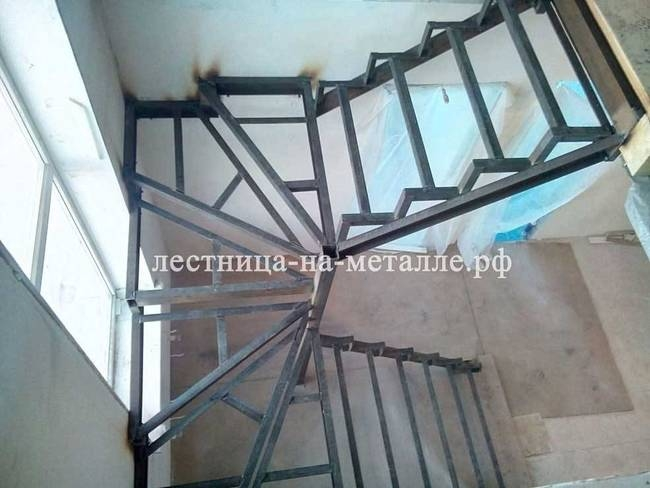Лестница из металла своими руками ютуб 95