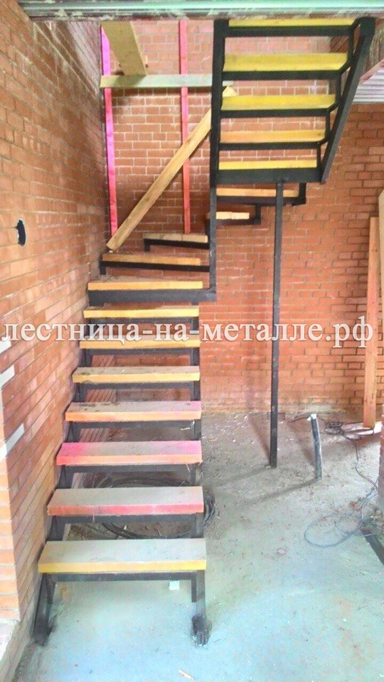 Лестница из п-образного своими руками 87